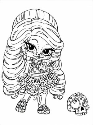 Printable Monster High Coloring Pages Online   387836