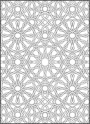 Printable Mosaic Coloring Pages   87126