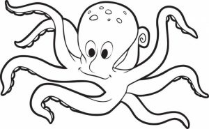 Printable Octopus Coloring Pages   7ao0b