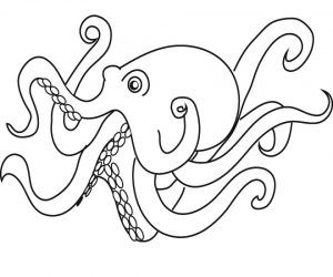 Printable Octopus Coloring Pages Online   2×548