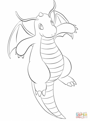 Printable Pokemon Coloring Page Online   84390