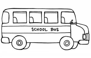 Printable School Bus Coloring Pages   dqfk16