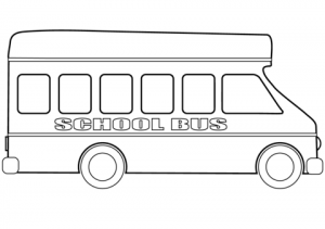 Printable School Bus Coloring Pages Online   2×536