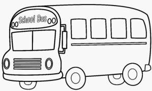 Printable School Bus Coloring Pages Online   gvjp15