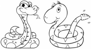 Printable Snake Coloring Pages Online   89391