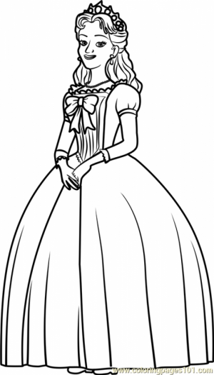 Printable Sofia the First Coloring Pages   89241