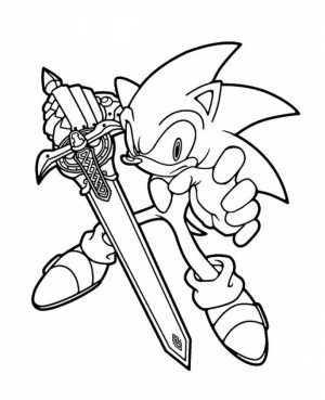 Printable Sonic Coloring Pages Online   711864