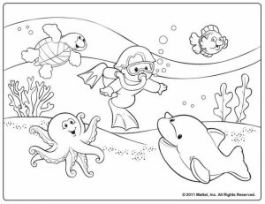Printable Summer Coloring Pages   811904
