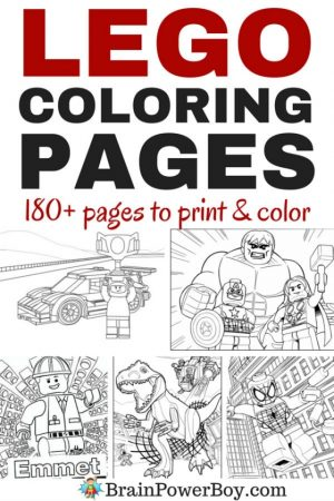 Printable The Lego Movie Coloring Pages   952212