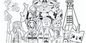 Printable The Lego Movie Coloring Pages Online   781021