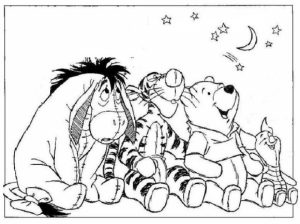 Printable Winny the Pooh Coloring Pages for Preschoolers   76310