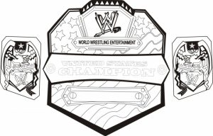 Printable WWE Coloring Pages   66662