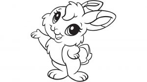 Rabbit Coloring Pages to Print for Kids   Q1CIN