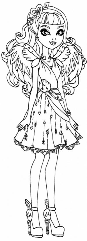 Royal Rebels Ever After High Girl Coloring Pages Printable   CFR33