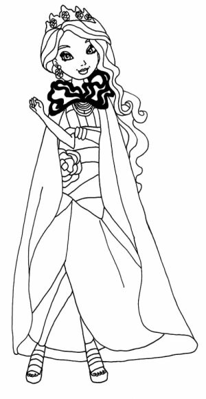 Royal Rebels Ever After High Girl Coloring Pages Printable   OKN72