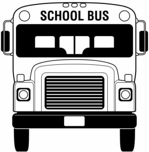 School Bus Coloring Pages Free Printable   fyo104