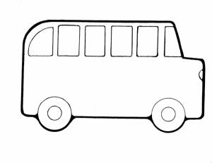 School Bus Coloring Pages Free Printable   q8ix7