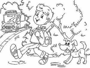 School Coloring Pages for Kids   48cnb12