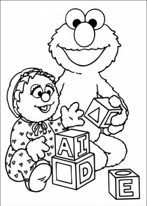 Sesame Street Coloring Pages Free   64733