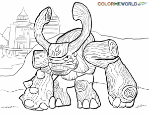 Skylander Coloring Pages Printable   26481