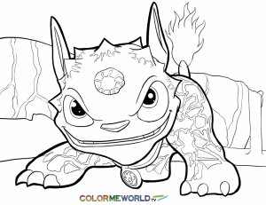 Skylander Coloring Pages Printable   65739