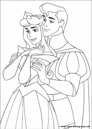 Sleeping Beauty Coloring Pages Free   1gahr