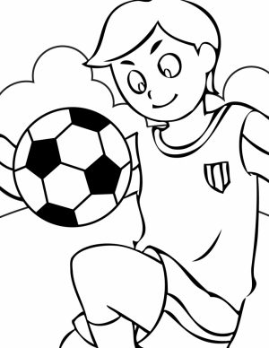 Soccer Coloring Pages Free to Print   83518