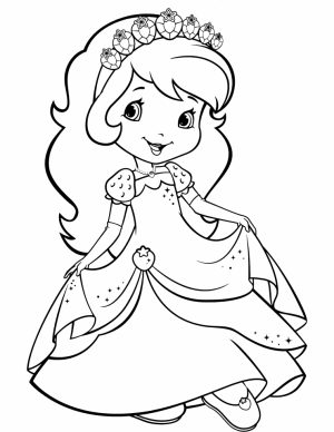 Strawberry Shortcake Coloring Pages for Girls   53169