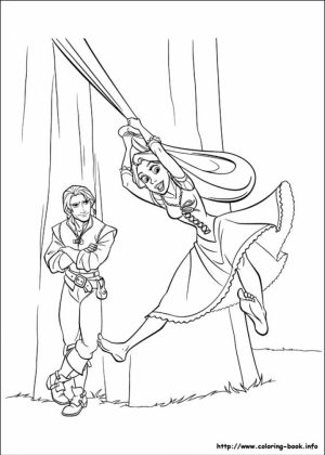 Tangled Coloring Book Pages   7vbg9