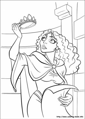 Tangled Coloring Book Pages   tcs3