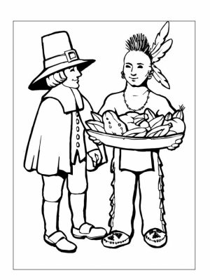 Thanksgiving Coloring Pages for Preschoolers   6xc48
