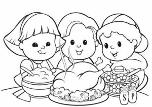 Thanksgiving Coloring Pages Free to Print   rw24x