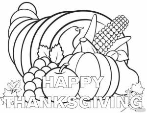 Thanksgiving Coloring Sheets for Kindergarten   6asgt