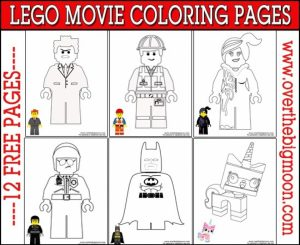 The Lego Movie Coloring Pages Free Printable   772667