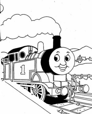 Thomas And Friends Coloring Pages to Print for Kids   KIFps