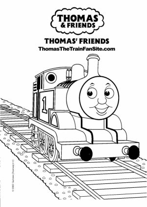 Thomas the Train Coloring Pages to Print   84167