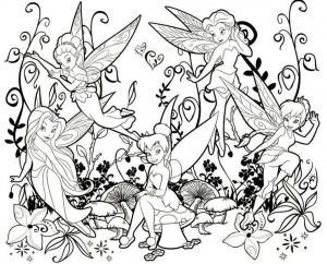tinkerbell fairy coloring pages to print out – 62715