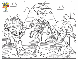 Toy Story Coloring Pages for Kids   16488