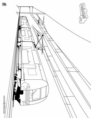 Train Coloring Pages for Kids   10557