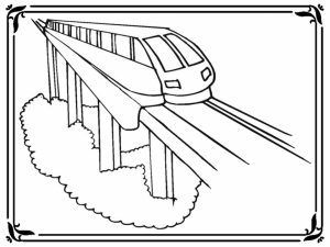 Train Coloring Pages for Kids   37440