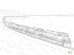 Train Coloring Pages Printable   14278