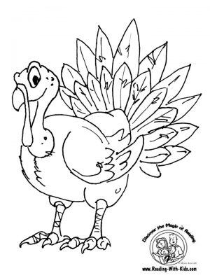 Turkey Coloring Pages Printable   33819