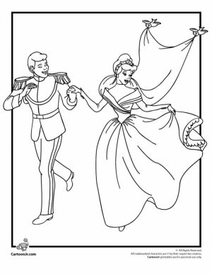 Wedding Coloring Pages Free Printable   6d761