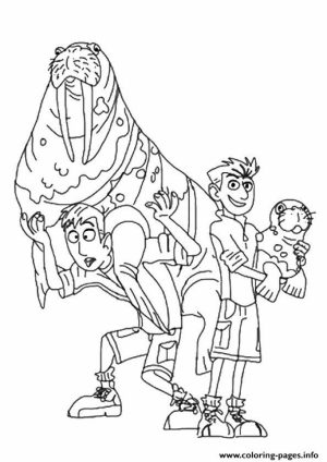 Wild Kratts Coloring Pages Online   27hg9