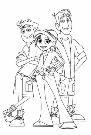 Wild Kratts Coloring Pages Online   ta438