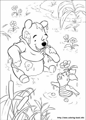 Winnie the Pooh Coloring Pages for Kids   26378