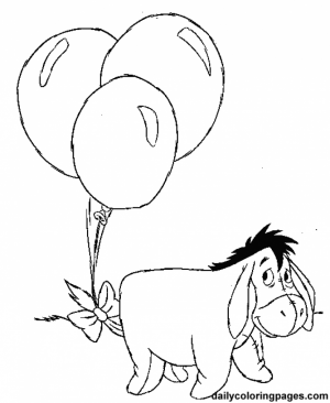 Winnie the Pooh Fun Cartoon Coloring Pages for Kids   94758