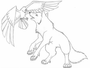 Wolf Coloring Pages to Print for Free   31740