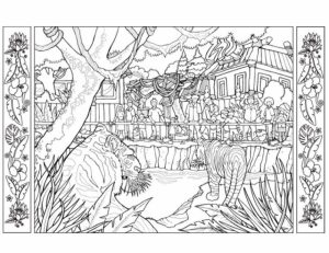 Zoo Coloring Pages Free to Print   66391